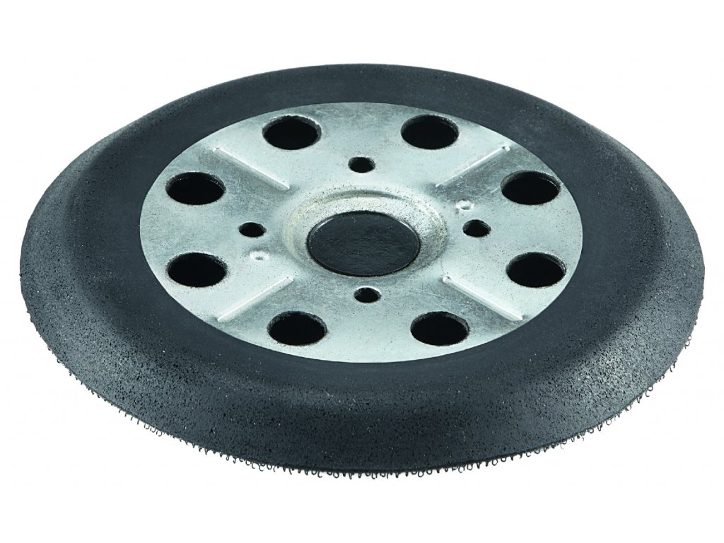 Snímací talíř na suchý zip, 125 Ø, 8 děr