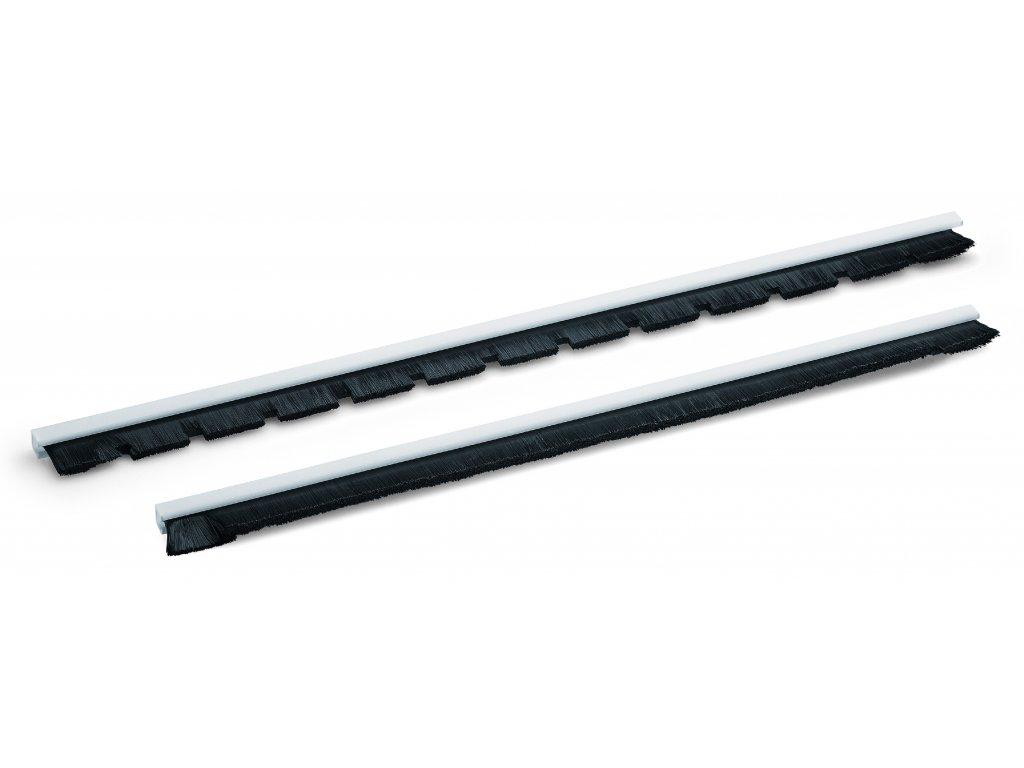 Kartáčová lišta BL-FN-AL 36x370 VE2