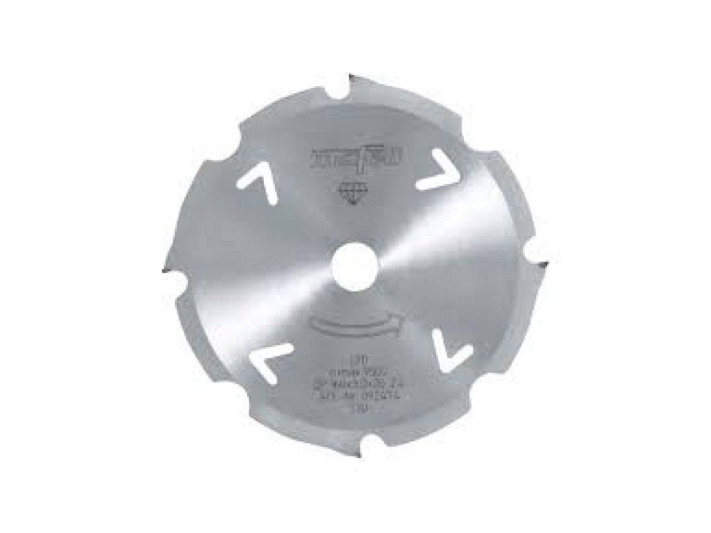 Diamantový pilový kotouč, 160 x 2,4/3,0 x 20 mm, Z 4, FZ/TZ