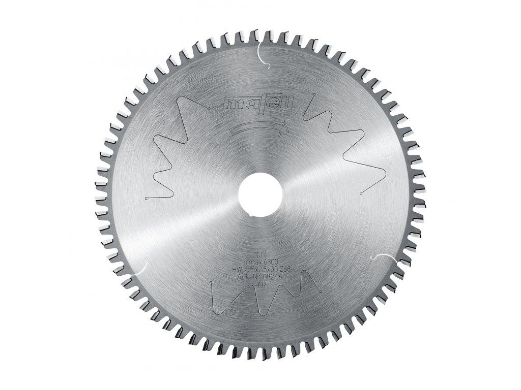 Pilový kotouč-HM, 225 x 1,8/2,5 x 30 mm, Z 68, FZ/TZ