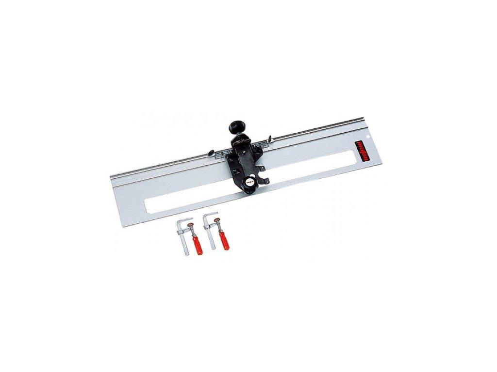Frézovací zařízení pro schody s 1 m lineárním vedením a 2 svorky