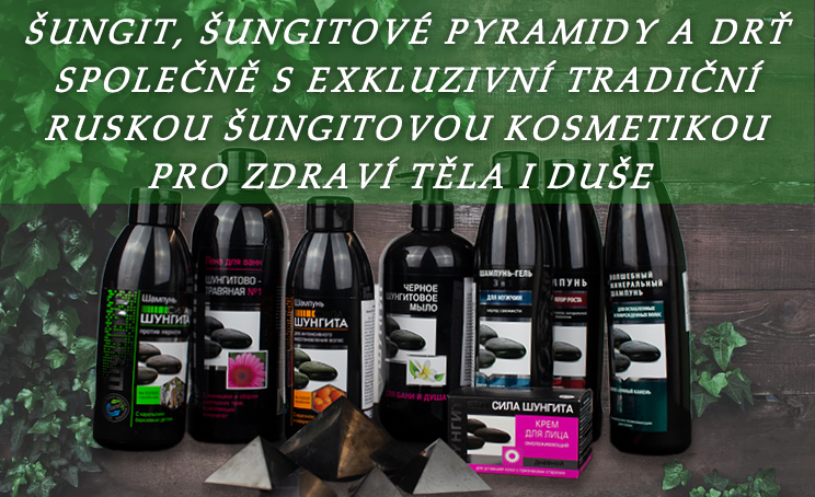 Banner Šungitová kosmetika