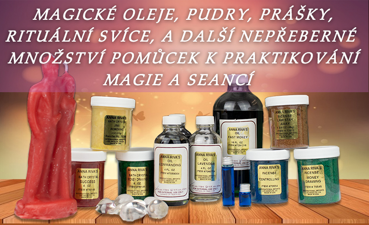 Banner Magické oleje