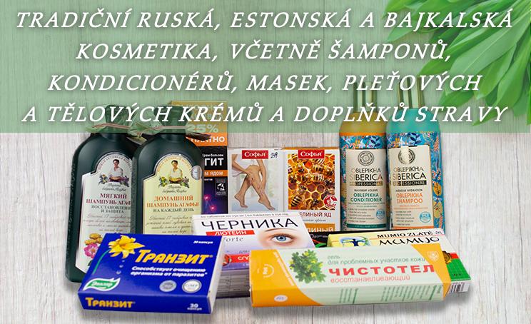 Banner Ruská kosmetika