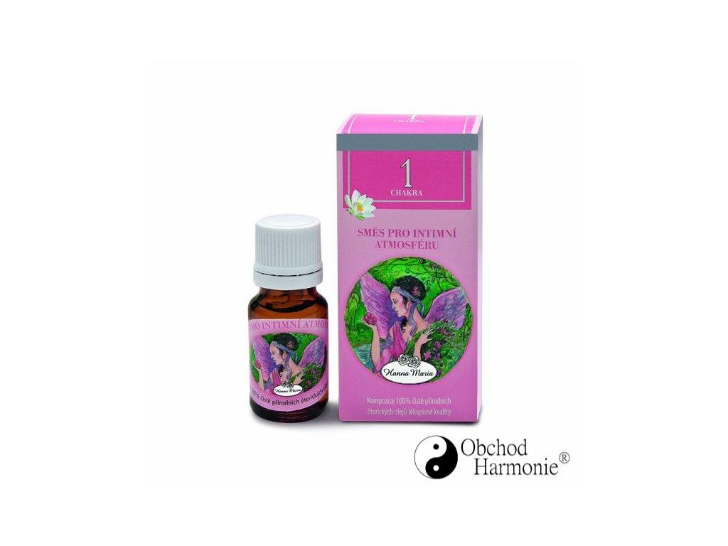 Čakrové oleje do aromalampy