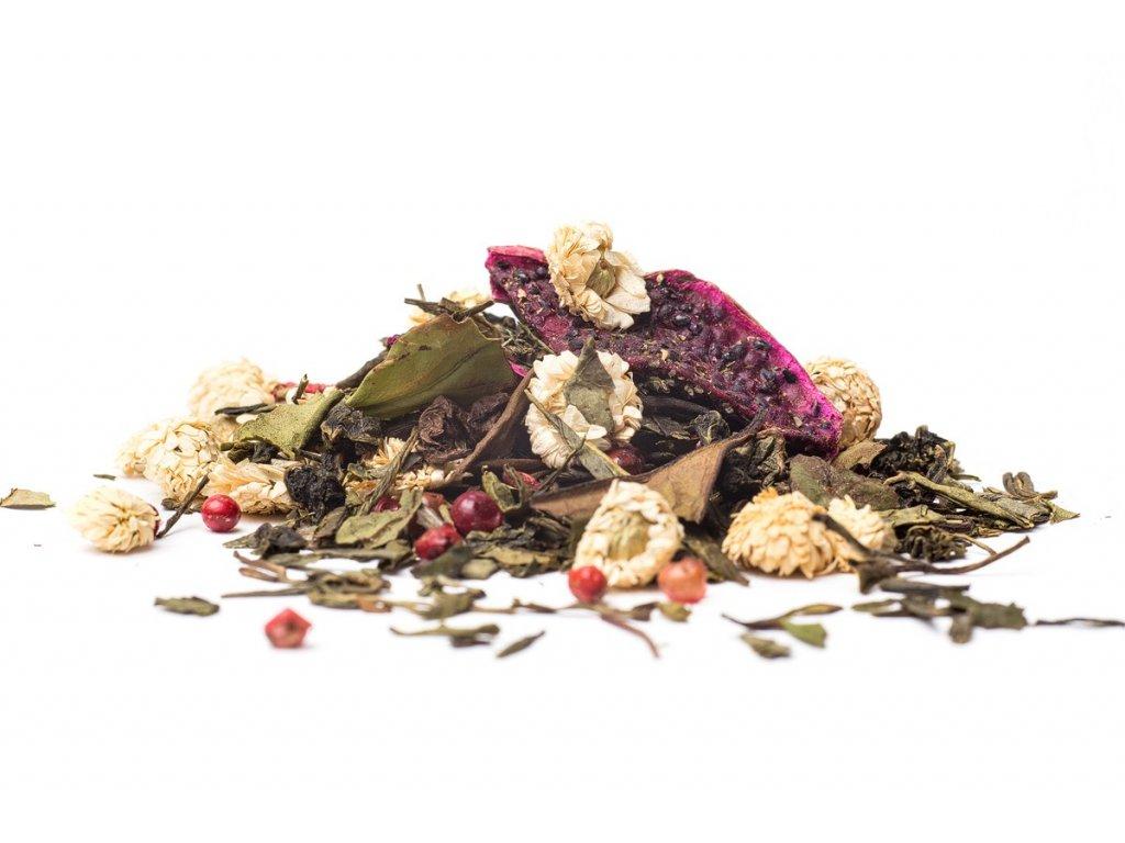 Zelené čaje aromatizované