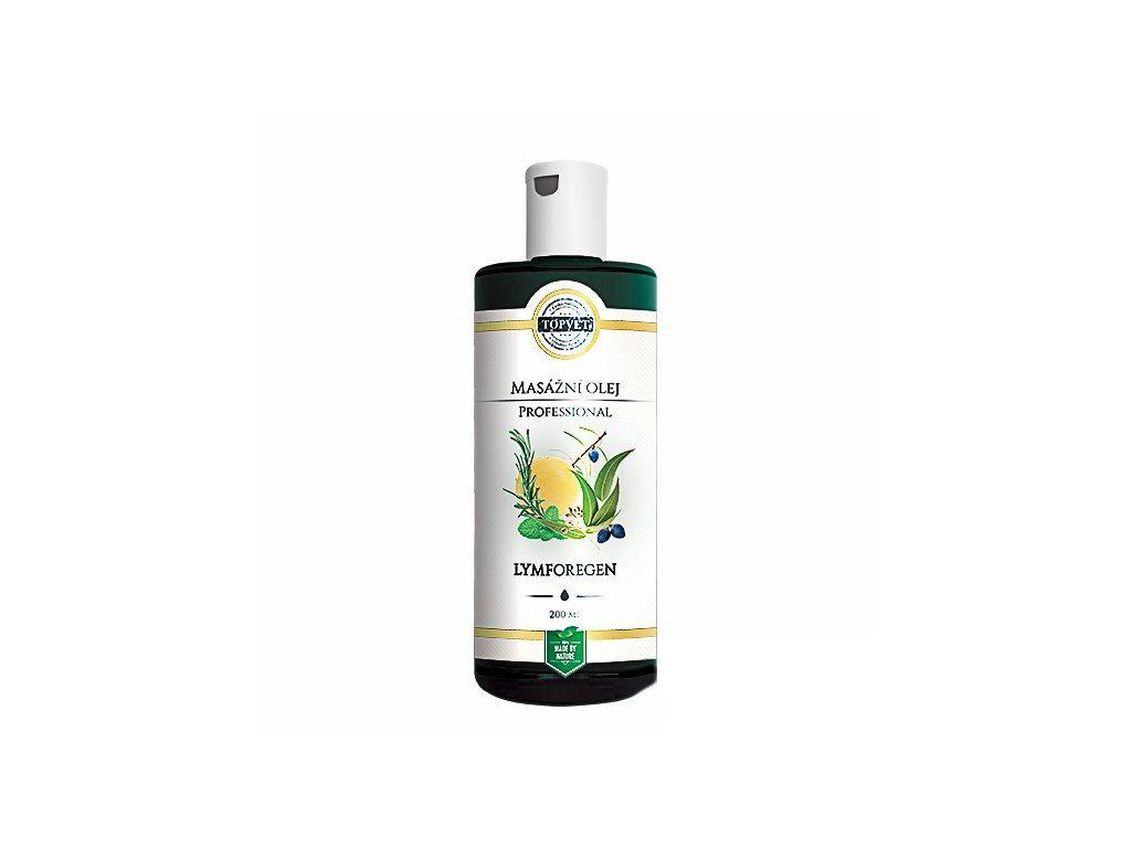 Lymforegen - masážní olej