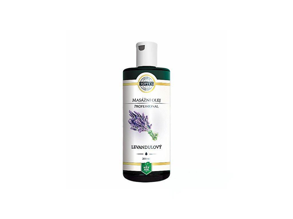 Levandulový masážní olej
