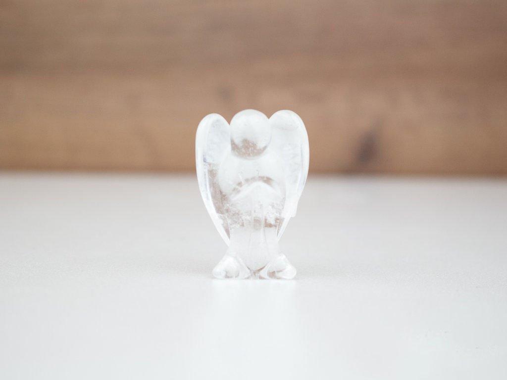 Anděl malý - křišťál
