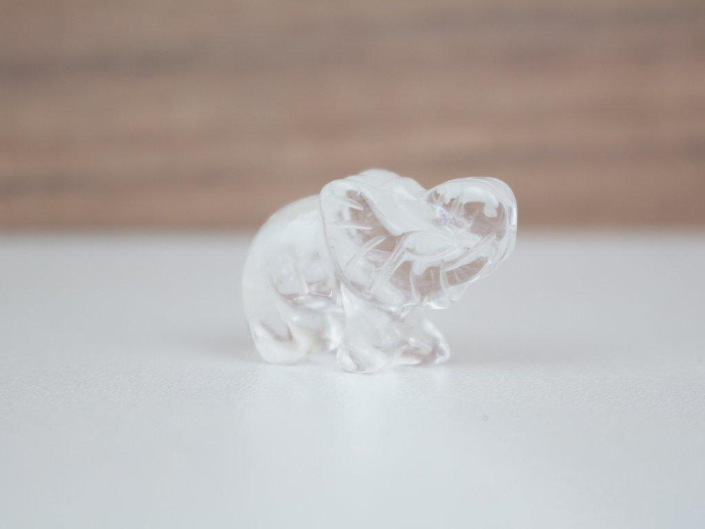 Slon malý - křišťál