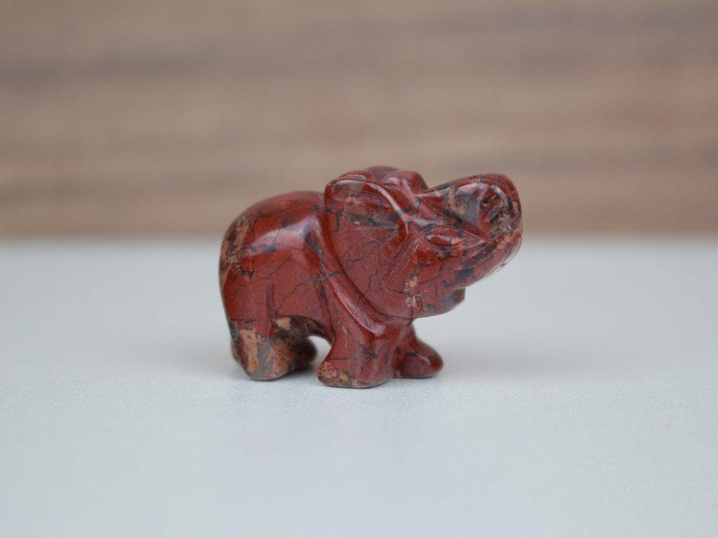 Slon malý - jaspis brekcie