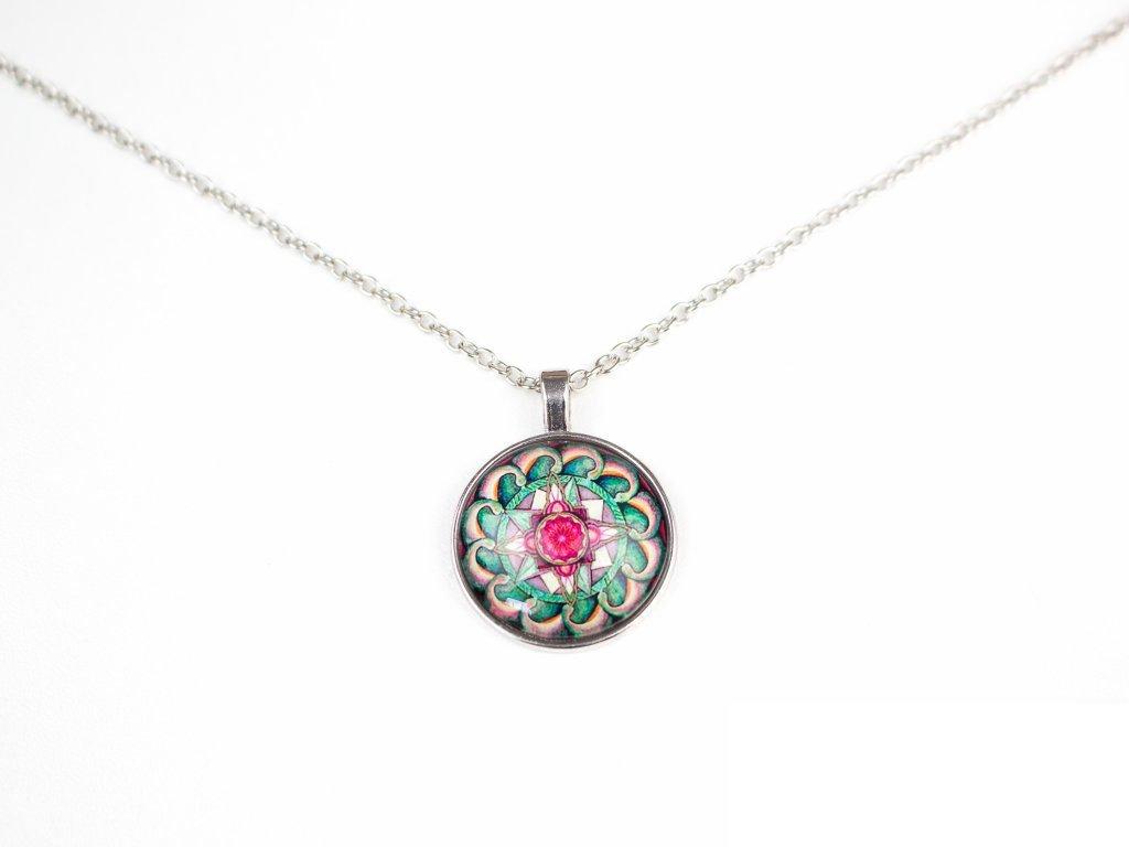 Mandalový náhrdelník 22