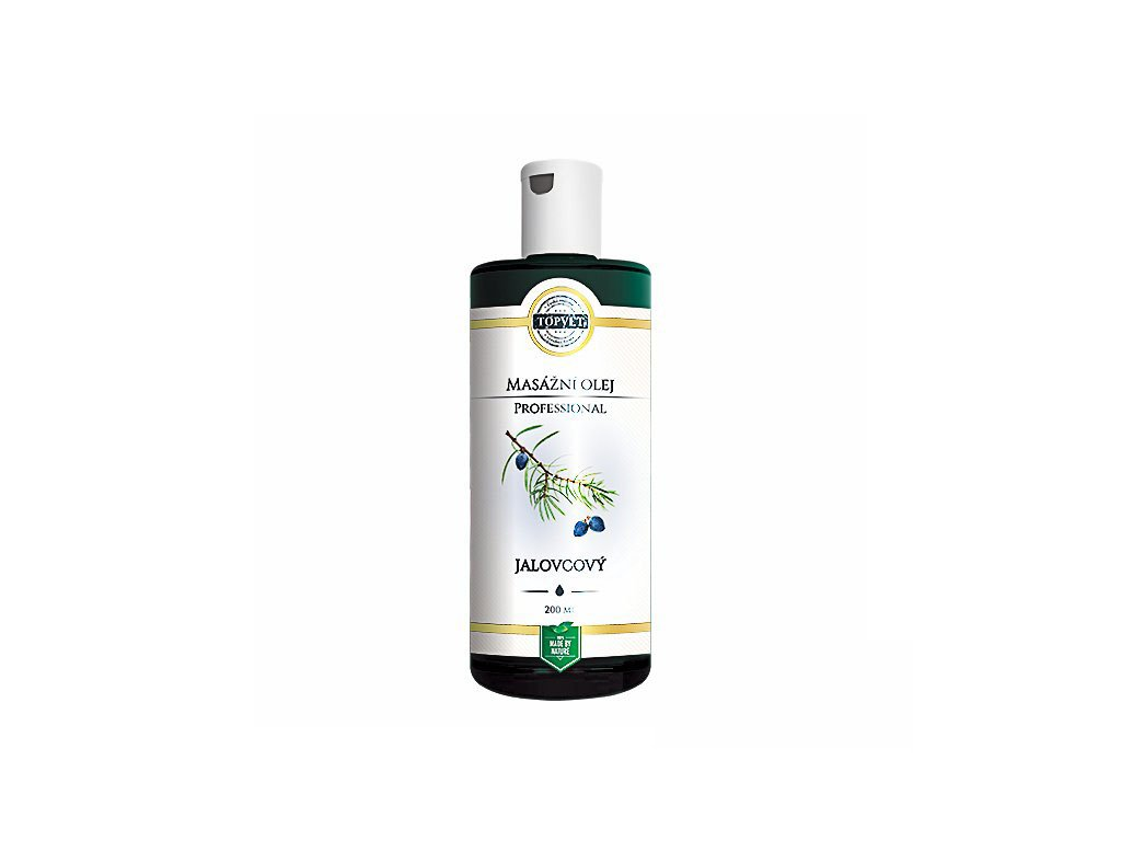 Jalovcový - masážní olej