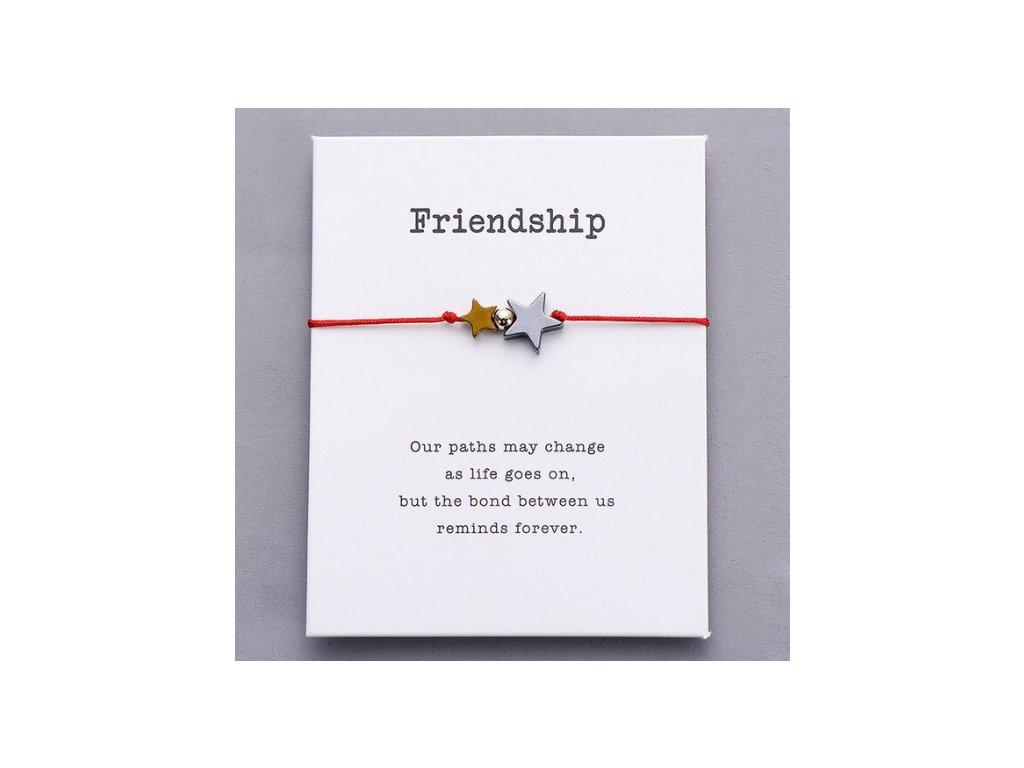 hvězdičky přátelství