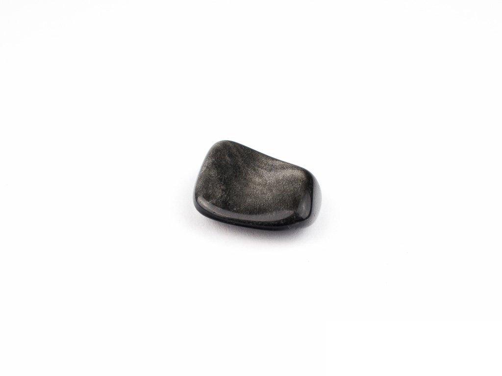 obsidian stříbrný