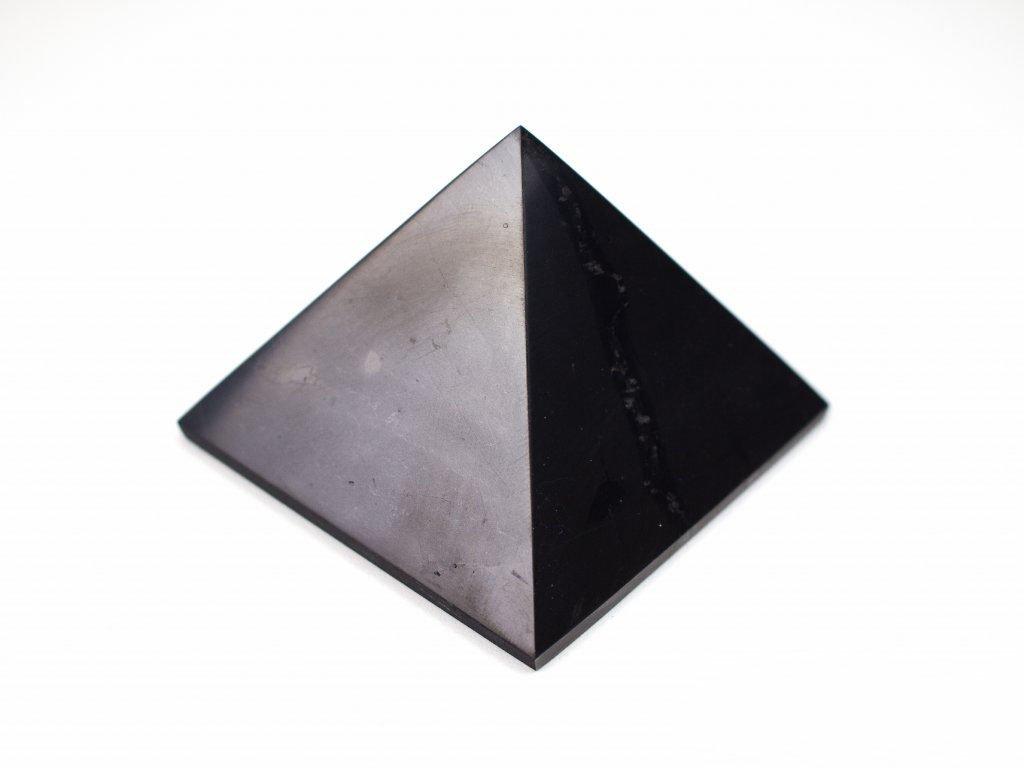 Šungitová pyramida - velká