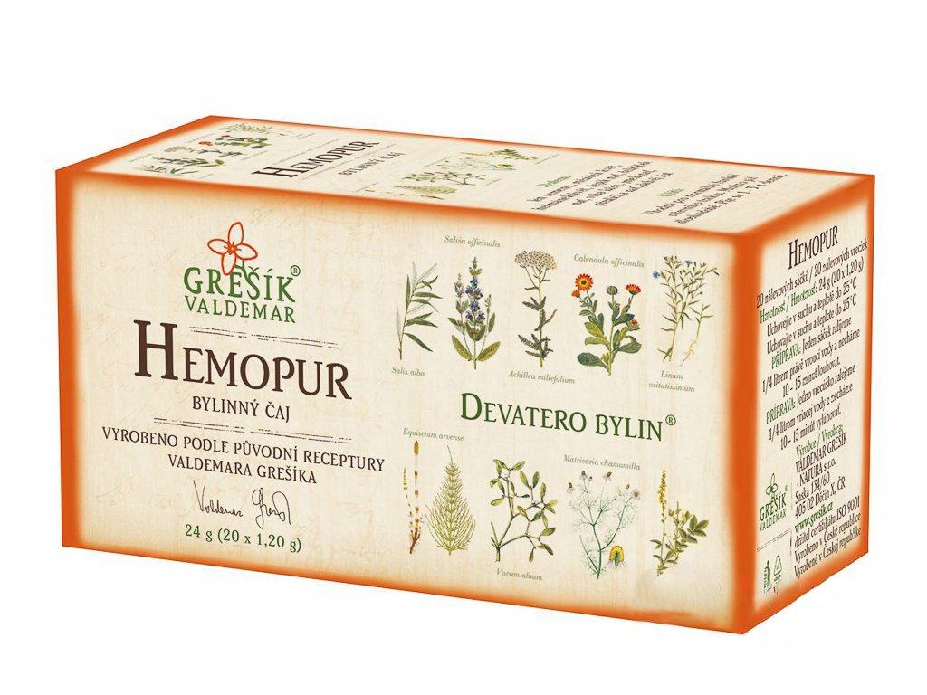 Hemopur - porcovaný 20ns
