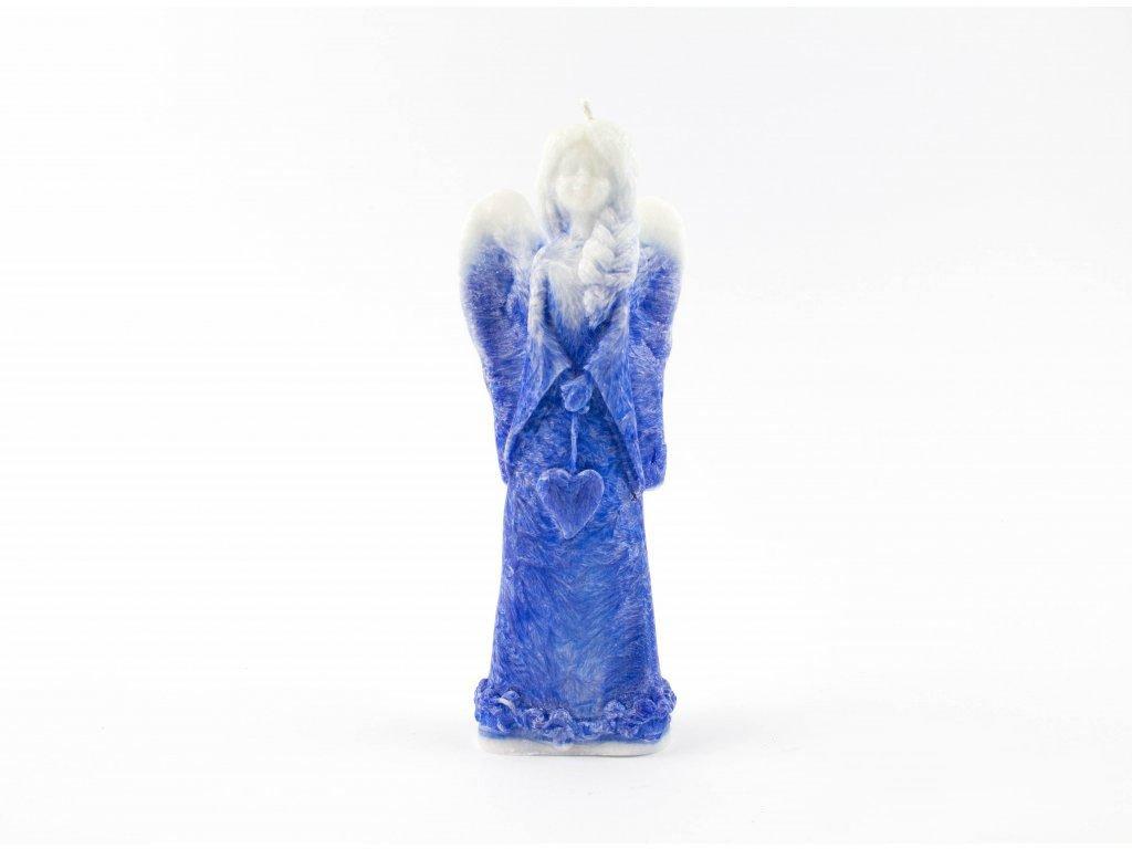 Anděl štěstí modrý