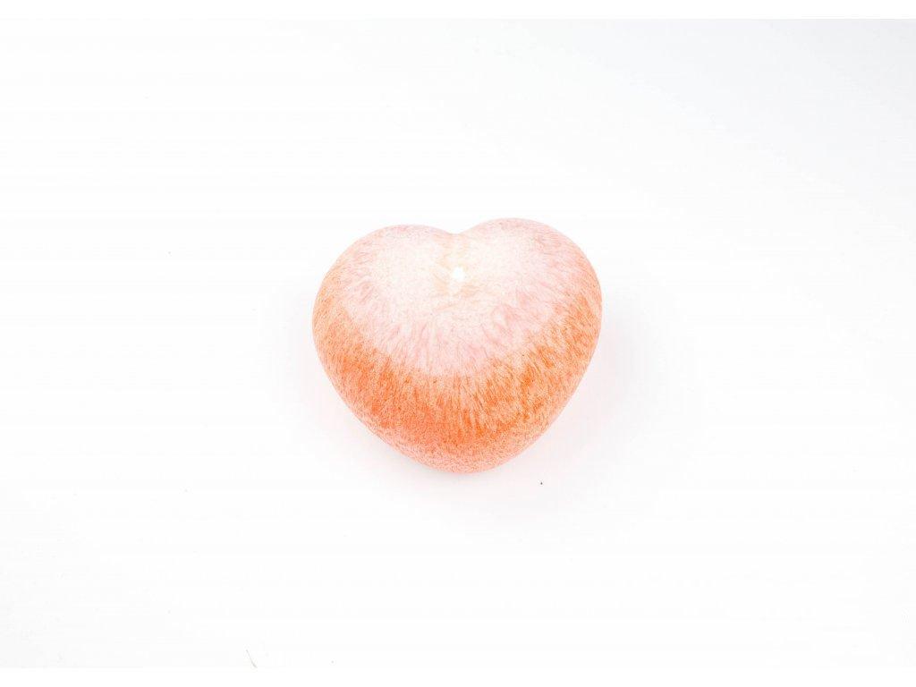 Srdce oranžové