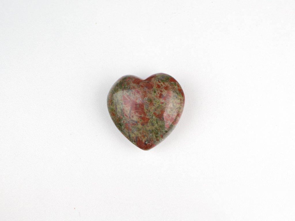 Srdce hmatka - unakit