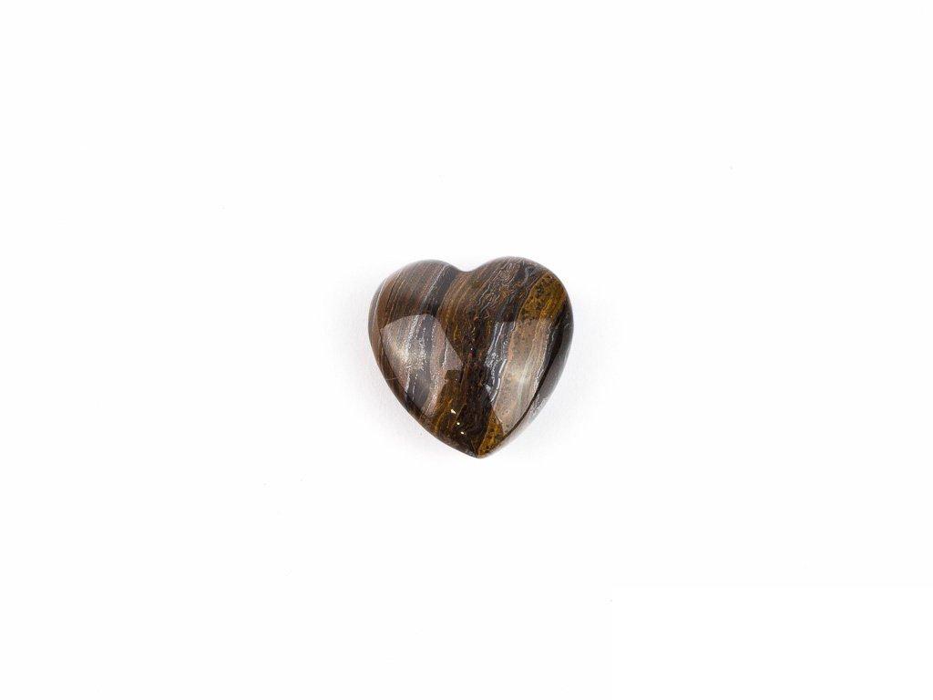 Srdce hmatka - tygří oko/tygří kůže