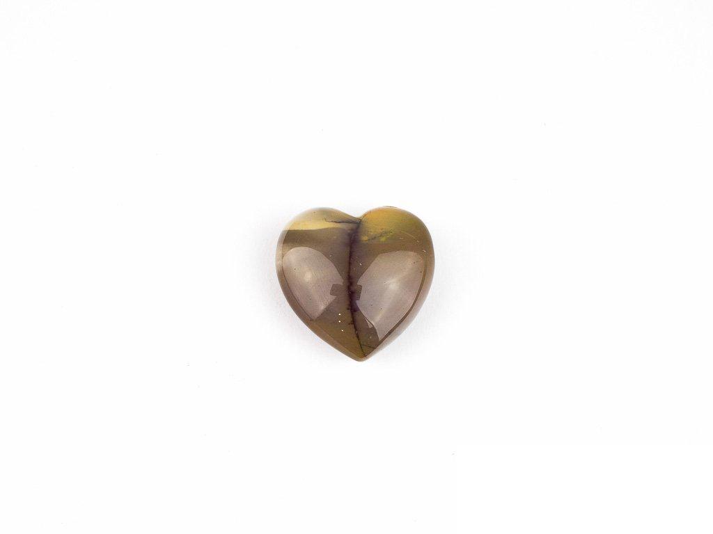 Srdce hmatka - jaspis polychrom