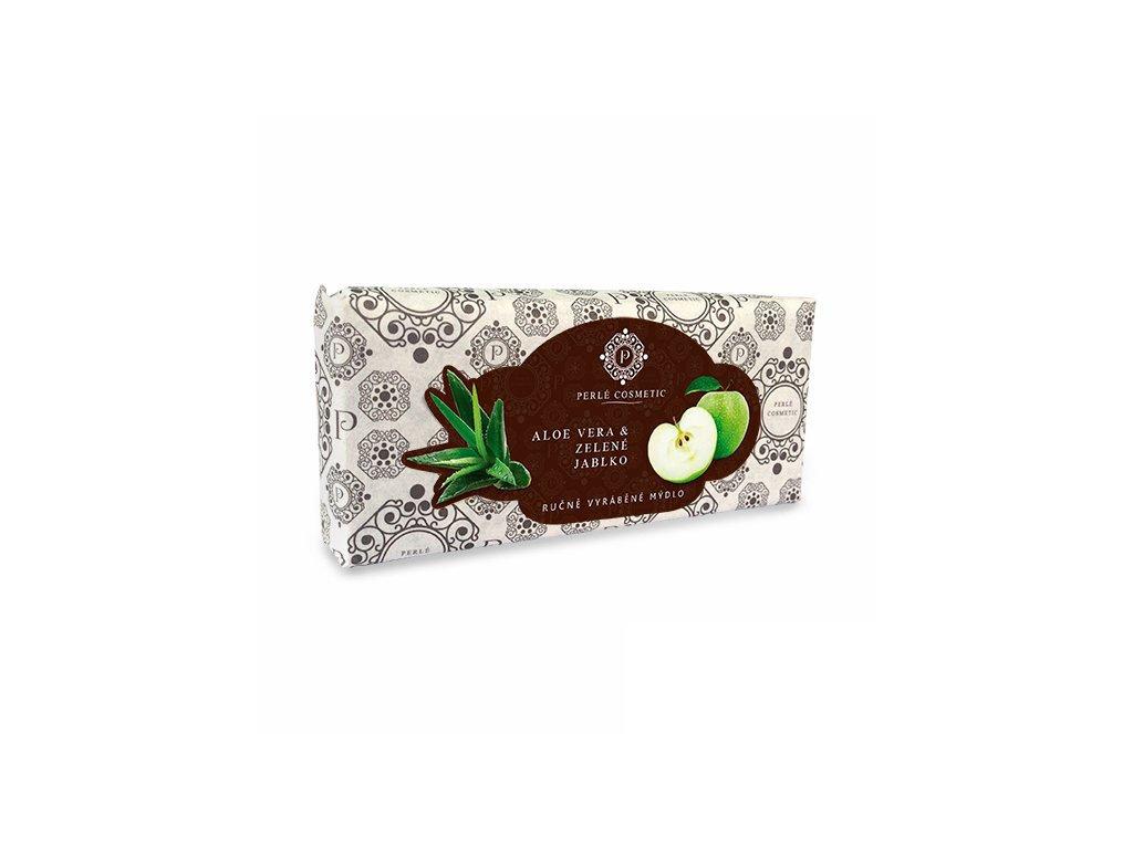 Mýdlo Aloe vera a zelené jablko 115 g