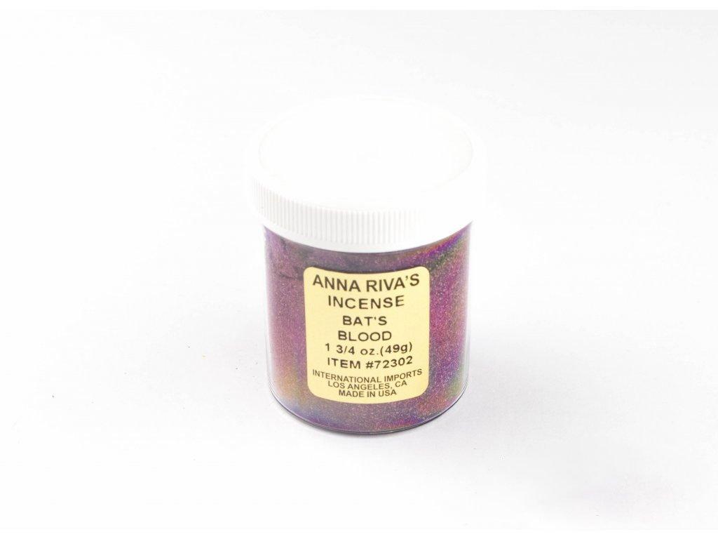 Anna Riva - (Bat's blood) Práškové vykuřovadlo