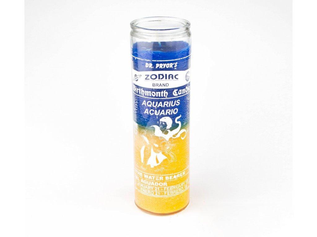 Magická svíce - (Aquarius) Vodnář