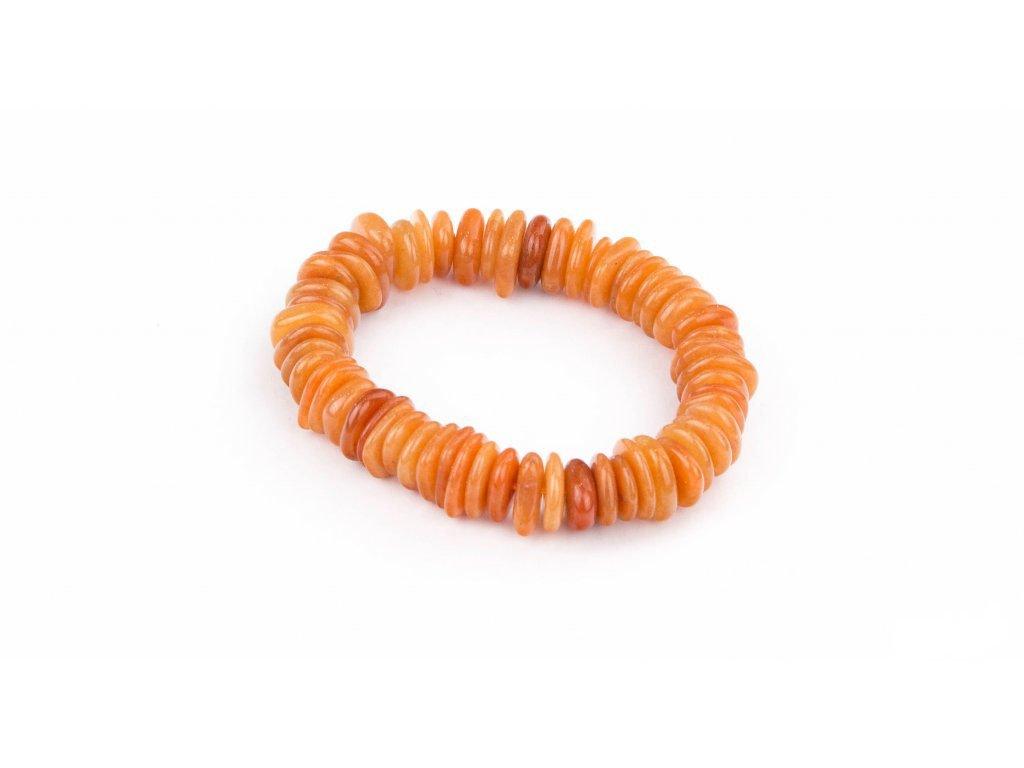 Avanturín oranžový - disky
