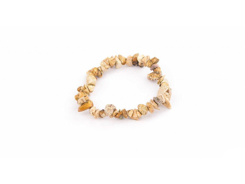 Jaspis pískový - sekaný
