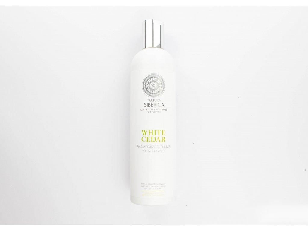 N.S. Siberie Blanche - White cedar - šampon na objem 400ml