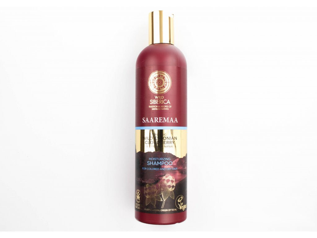 N.S. Wild Siberica Saaremaa: Hydratační šampón 400ml