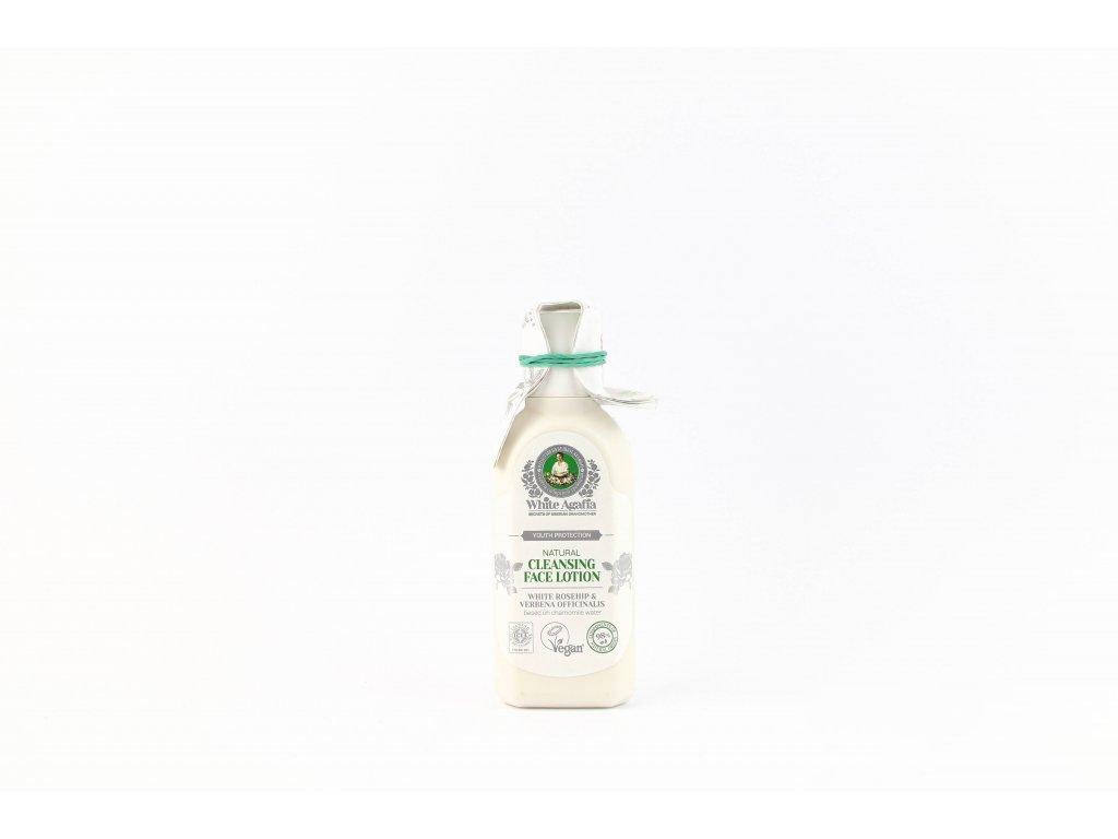 """White Agafia: Čistící pleťové mléko """"Zachování mládí"""" (do 35 let) 150 ml"""