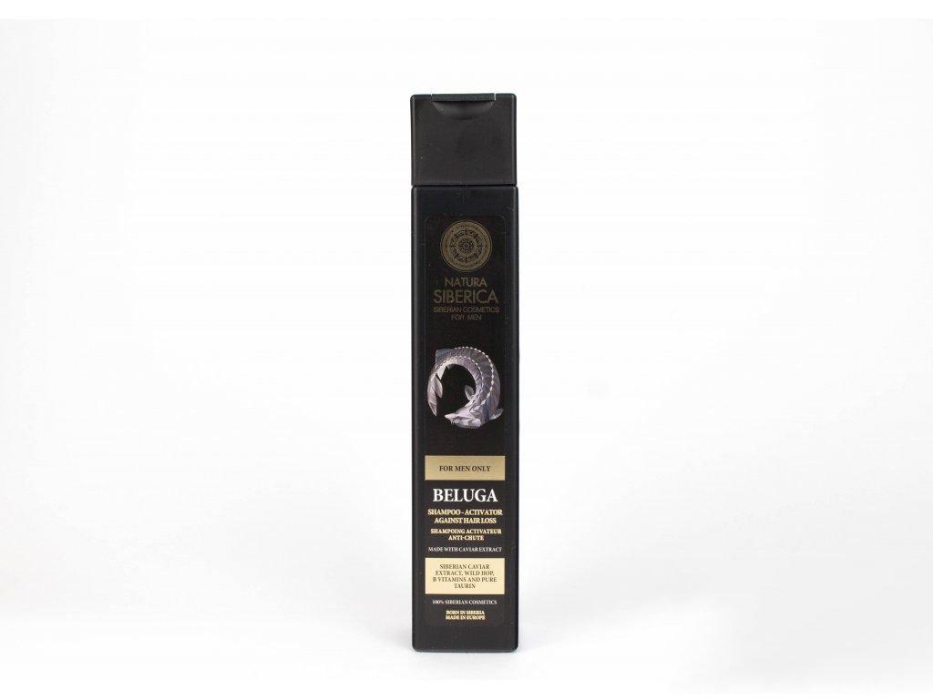 """N.S. MEN Šampon-aktivátor proti vypadávání vlasů """"Beluga"""" 250ml"""