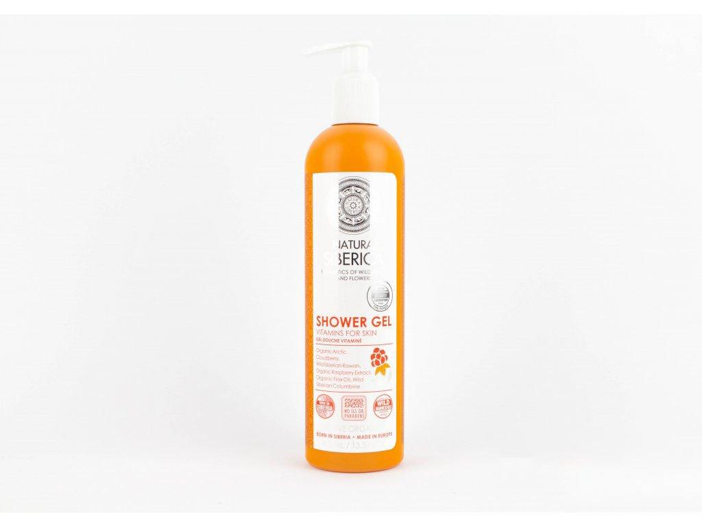 "N.S. Sprchový gel ""Vitamíny pro pokožku"" 400ml"