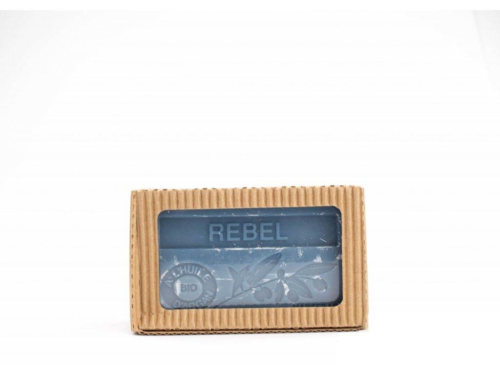 Mýdlo s bio arganovým olejem - Rebel (Rebel) 100g