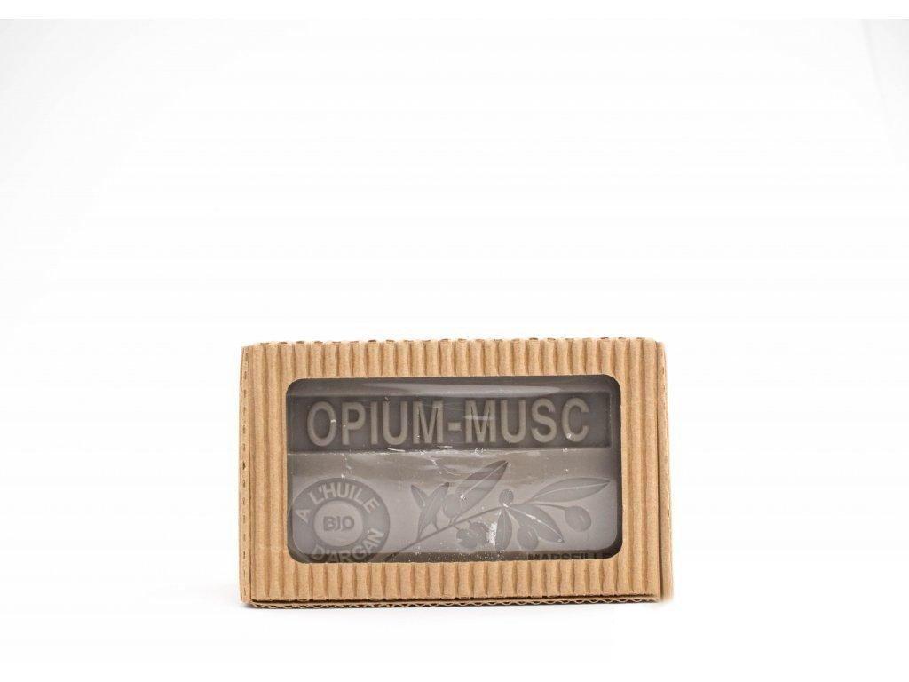 Mýdlo s bio arganovým olejem - Opium musc (opium pižmo) 100g