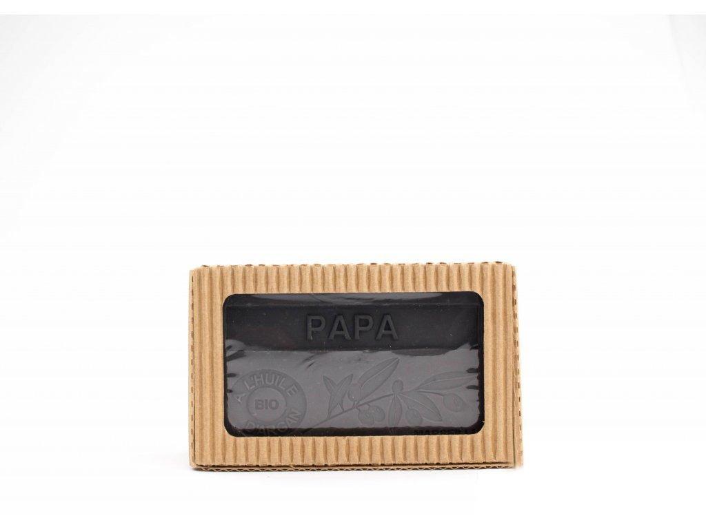 Mýdlo s bio arganovým olejem - Papa (Tatínek) 100g
