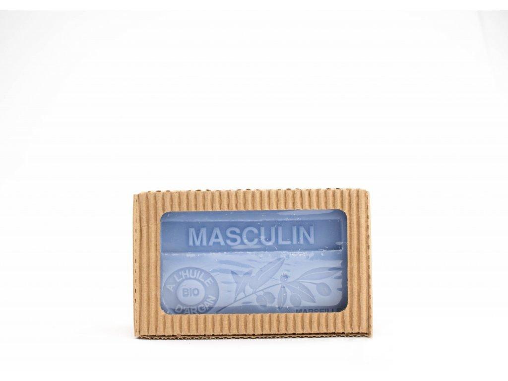 Mýdlo s bio arganovým olejem - Masculin (pro muže) 100g