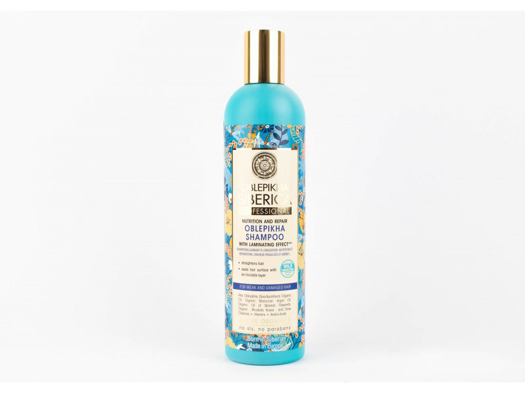 N.S. OBLEPIKHA SIBERICA: Rakytníkový šampon pro slabé a poškozené vlasy 400ml