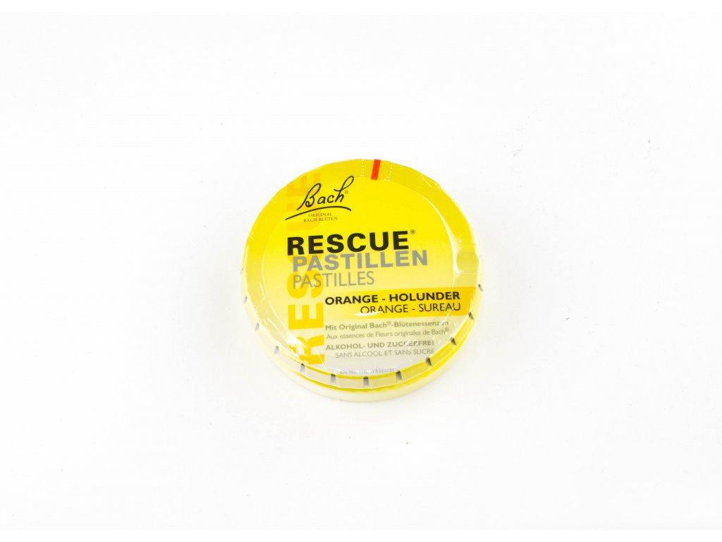 Rescue pastilky - pomeranč