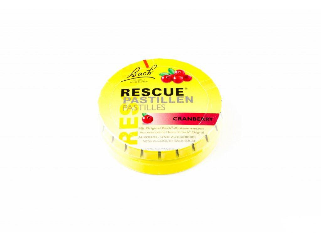Rescue pastilky -  brusinka