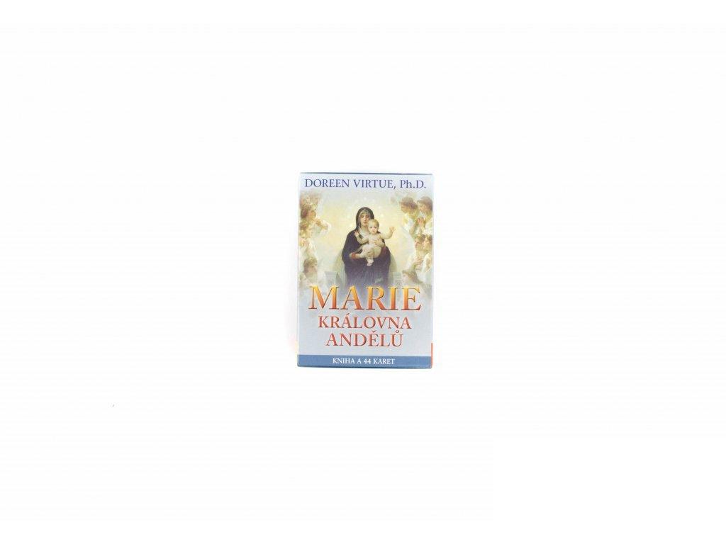 Marie, královna andělů - karty
