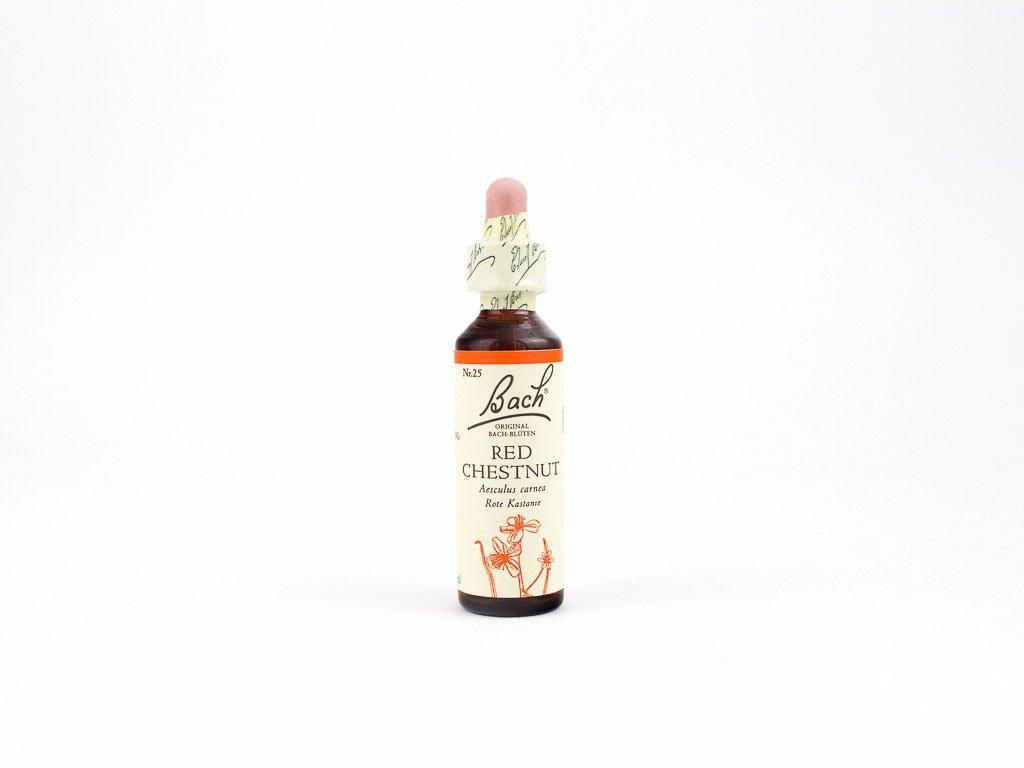 Red Chestnut, Kaštan červený 20 ml - Bachovy esence