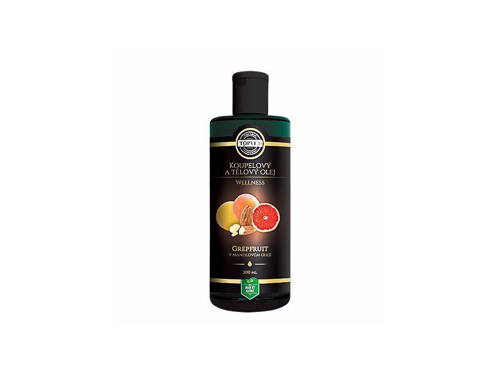 Grapefruit v mandlovém oleji