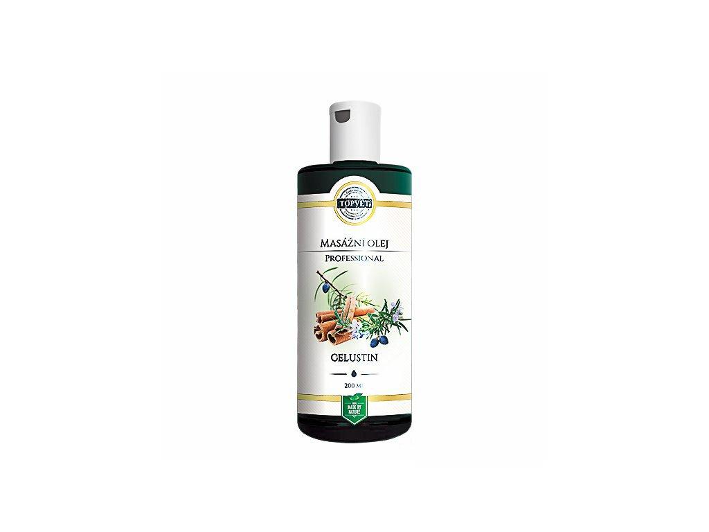 Celustin - masážní olej
