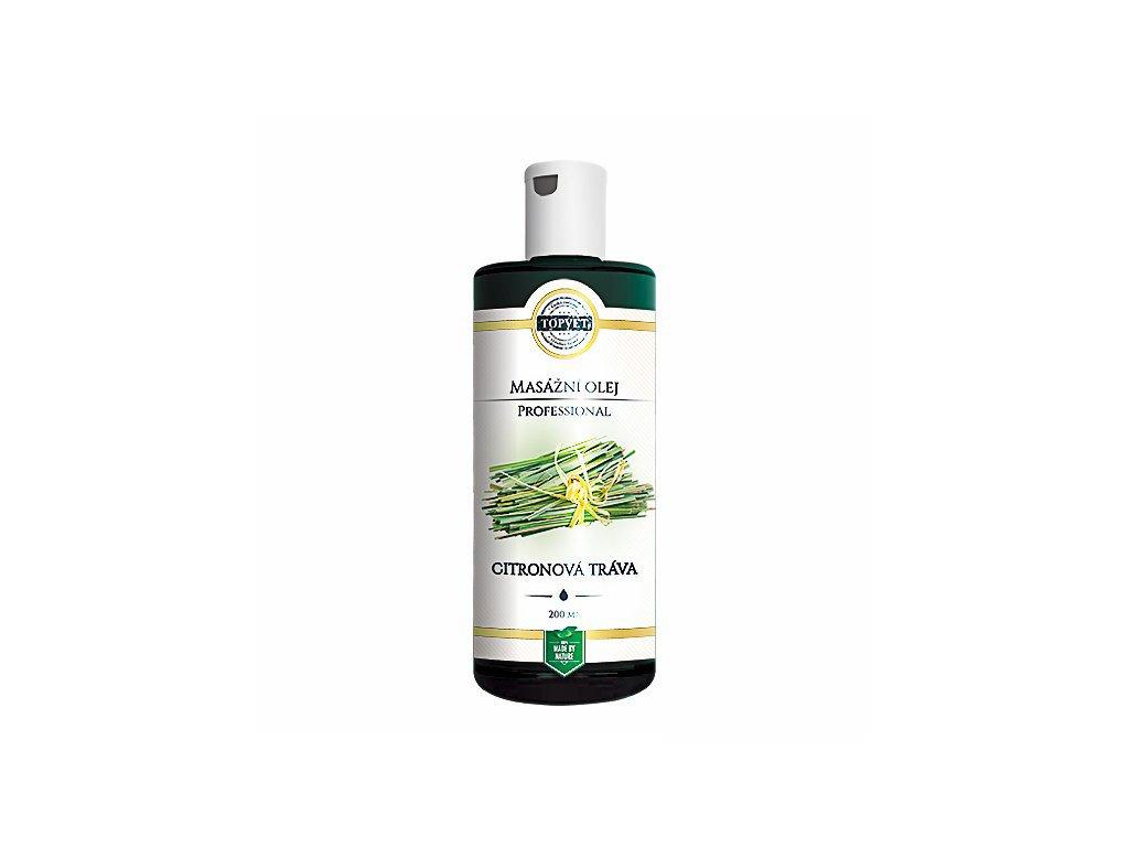 Citronová tráva masážní olej