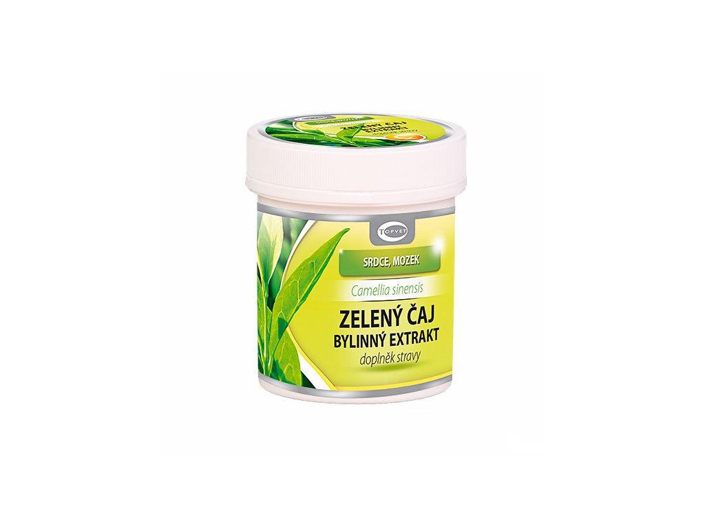 Zelený čaj - bylinný extrakt