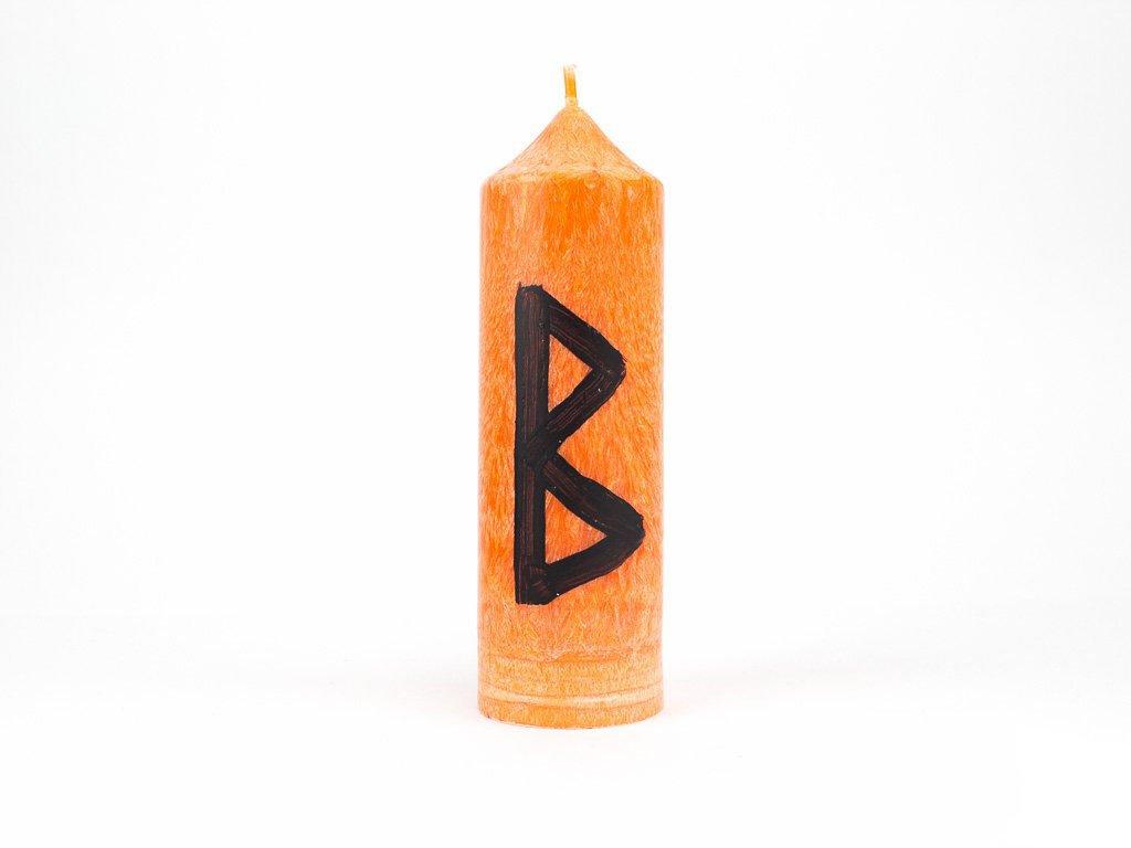 Runová svíce - Berkana
